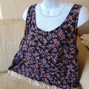 Charlotte Russe Sleeveless Summer Top Size 1X